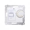 Regulator temperatury Simon 54 DRT10W.02/11 z czujnikiem wewnętrznym biały Kontakt-Simon