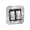 Łącznik schodowy Kontakt-Simon 82 75394-39 podwójny podświetlany mechanizm