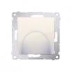 Wyjście kablowe Kontakt-Simon 54 DPK1.01/41 kremowe