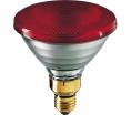 Promiennik Philips PAR38 923801444210 IR 175W E27 230V Czerwony
