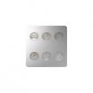 Klawiatura Sense Kontakt-Simon Simon Sense 8000663-093 6 klawiszy Custom T1 aluminium
