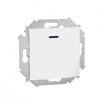 Przycisk pojedynczy Kontakt-Simon 15 1591160-030 z podświetleniem biały