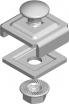 Uchwyt śrubowy 28X24 USSN 900201 Baks