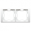 Ramka podwójna Kontakt-Simon Basic Neos BMRC2/11 biała