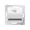 Oprawa oświetleniowa LED Kontakt-Simon 54 DOSC.01/11 z czujnikiem ruchu światło białe ciepłe 230V DC biała