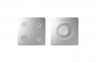 Klawiatura Sense&Slide Kontakt-Simon Simon Sense 8400651-093 4 klawisze Regular aluminium