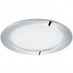 Plafon Eglo Fueva 1 96056 lampa oprawa wpuszczana downlight oczko 1x10,9W LED biały / chrom okr.