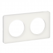 Ramka podwójna Schneider Odace Touch S52P804R szklana biel