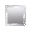 Łącznik podtynkowe Kontakt-Simon 54 DW6.01/43 schodowy srebrny mat, metalizowany