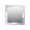 Wyjście kablowe Kontakt-Simon 54 DPK1.01/43 srebrny mat