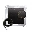 Regulator temperatury Kontakt-Simon 54 DRT10Z.02/48 podłogowy z czujnikiem zewnętrznym 3m antracyt