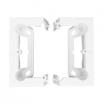 Puszka natynkowa Kontakt-Simon PSC/11 głęboka 40mm pojedyncza składana biała