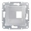 Płytka centralna Schneider Sedna SDN4300660 1xRJ45 do Amp Molex Keline aluminium