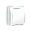 Łącznik pojedynczy hermetyczny Kontakt-Simon Aquarius AQW1/11 natynkowy IP54 biały