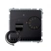 Regulator temperatury Kontakt-Simon Basic BMRT10ZS.02/28 z czujnikiem zewnętrznym grafit