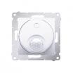Łącznik z czujnikiem ruchu Simon 54 DCR10P.01/11 z przekaźnikiem biały Kontakt-Simon