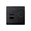 Regulator temperatury Kontakt-Simon Basic BMRT10W.02/28 z czujnikiem wewnętrznym grafitowy mat