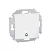 Przycisk dzwonek Kontakt-Simon 15 1591659-030 biały