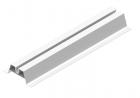 Szyna montażowa aluminiowa SMA70/033 Baks 890733