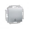 Przycisk dzwonek Kontakt-Simon 15 1591659B-026 hermetyczny IP44 bez uszczelki aluminium metalizowane