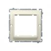 Basic adapter Kontakt-Simon na osprzęt standardu 45x45mm wkręty beżowy BMA45/12