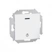 Przycisk światło Kontakt-Simon 15 1591161-030 z podświetleniem biały