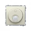 Czujnik ruchu Kontakt-Simon Basic BMCR10P.01/12 do LED z przekaźnikiem beżowy