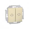 Łącznik żaluzjowy Kontakt-Simon 15 1591332-031 roletowy beżowy