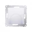 Wyjście kablowe Kontakt-Simon 54 DPK1.01/11 białe