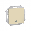 Przycisk dzwonek Kontakt-Simon 15 1591659-031 beżowy
