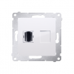 Gniazdo HDMI Kontakt-Simon Simon 54 DGHDMI.01/11 pojedyncze białe