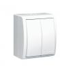 Łącznik świecznikowy hermetyczny Kontakt-Simon Aquarius AQW5/11 natynkowy IP54 biały