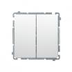 Łącznik schodowy Kontakt-Simon Basic BMW6/2.01/11 podwójny biały