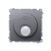 Czujnik ruchu Kontakt-Simon Basic BMCR11P.01/43 do LED z przekaźnikiem srebrny