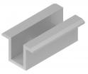 Uchwyt pośredni panela PUFL (RAL2/9005) Baks 897302 czarny