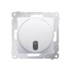 Dzwonek elektroniczny Kontakt-Simon 54 DDS1.01/11 230V biały