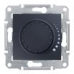 Ściemniacz przyciskowo-obrotowy Schneider Sedna SDN2200570 z funkcją łącznika schodowego RL 60-500VA grafit