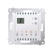 Regulator temparatury Kontakt-Simon 54 DTRNW.01/11 z wyświetlaczem z czujnikiem wewnętrznym biały