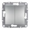 Łącznik świecznikowy Schneider Asfora EPH0300161 aluminium