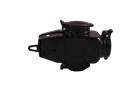 Gniazdo przenośne AEP potrójne jednofazowe gumowe z thermoduru z zatyczką 16A 230V IP44 9002257 czarne