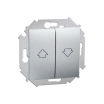 Łącznik żaluzjowy Kontakt-Simon 15 1591332-026 roletowy aluminium metalizowany