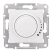 Ściemniacz przyciskowo-obrotowy Schneider Sedna SDN2200521 z funkcją łącznika schodowego RL 60-500VA biały