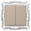 Łącznik świecznikowy Schneider Sedna SDN0300468 hermetyczny IP44 satynowy