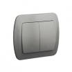 Łącznik świecznikowy Kontakt-Simon Akord AW5/26 aluminium podtynkowy