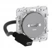 Gniazdo HDMI Schneider Odace S530462 pojedyncze z przewodem podłączeniowym aluminium