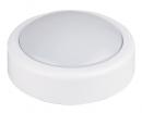 Lampka stołowa biurkowa dotykowa na baterie Rabalux Push Light 1x0,3W LED biała 4703
