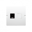Gniazdo komputerowe Kontakt-Simon Basic BMF51.02/11 pojedyncze 1xRJ45 kategoria 5e białe