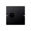 Gniazdo komputerowe Kontakt-Simon Basic BMF51.02/28 pojedyncze 1xRJ45 kategoria 5e grafitowy mat