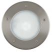Lampa najazdowa zewnętrzna oczko Eglo Riga3 15W E27 stal nierdzewna IP67 86189