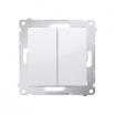 Przełącznik świecznikowy Kontakt-Simon Simon 54 DW5.01/11 biały